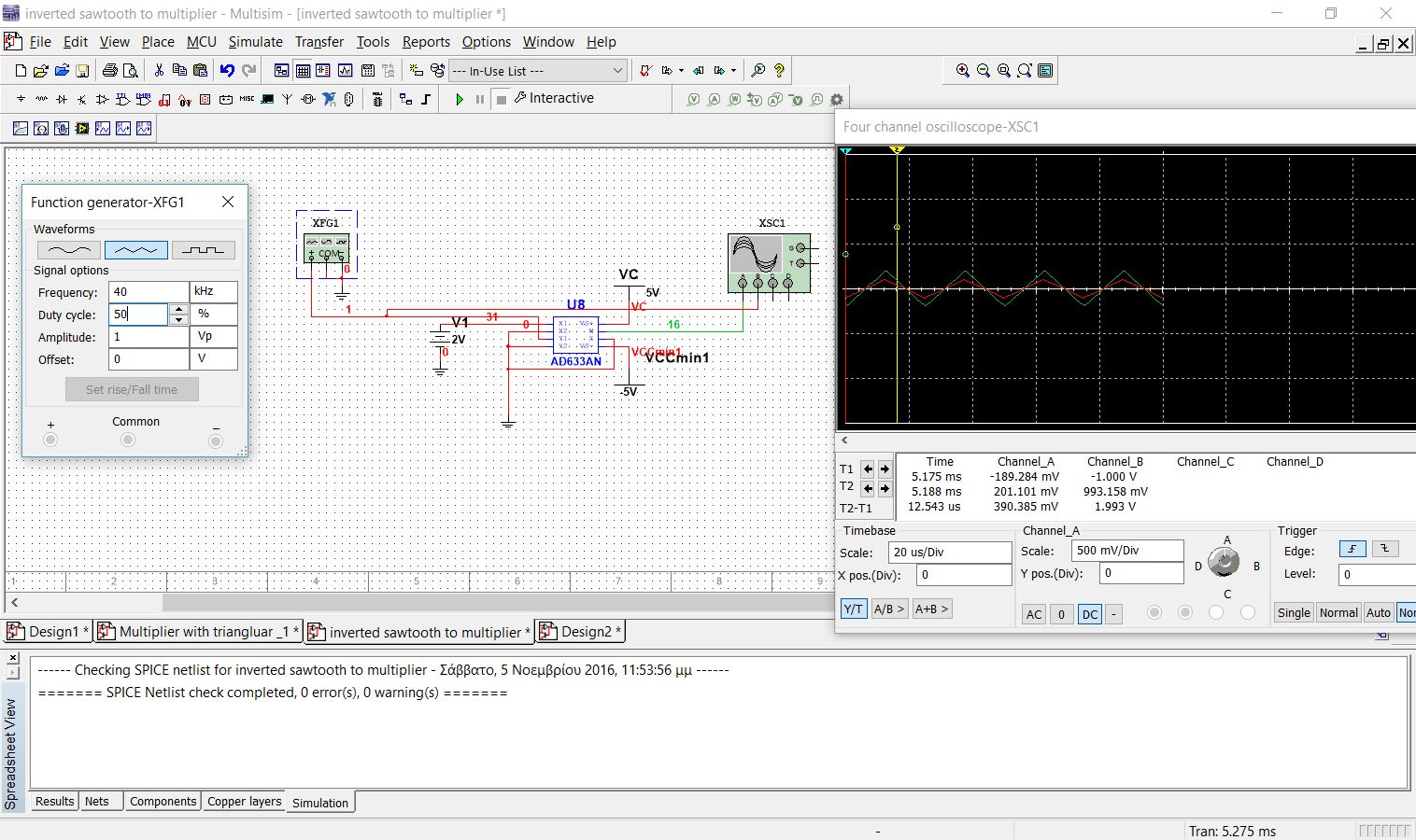 Simulation Error At Ad633 Multiplier With Sawtooth From 555 Timer 12volttimercircuitjpg