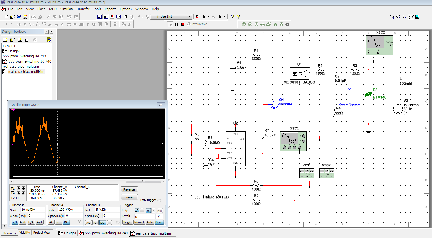 Sawtooth Generator Circuit 555 Electrical Work Wiring Diagram Timer Ramp Simulation Error At Ad633 Multiplier With From Discussion Forums Op Amp