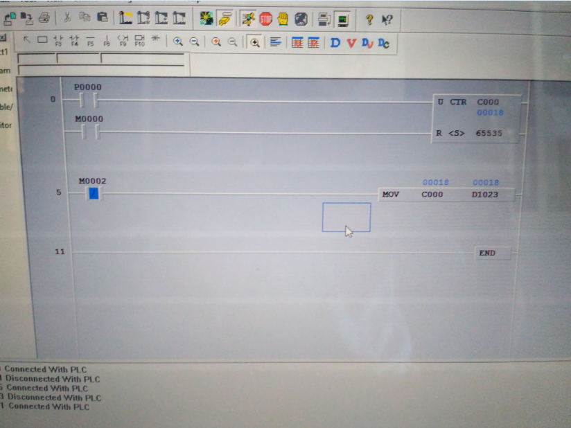 read Counter register from PLC (LG) LSIS Master K120S(E) via