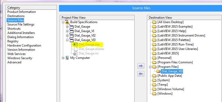 Solved: Custom installer  exe file missing - NI Community