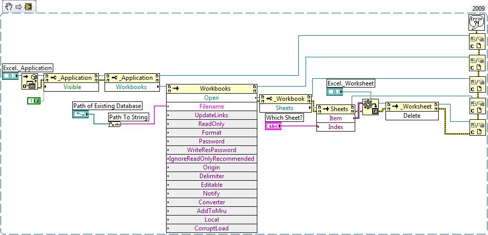 Remove Worksheet Vi Report Generation Toolkit Labview 86