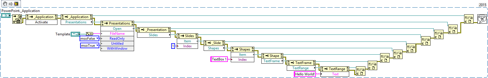 Solved: Add text string to a textbox that already exists in a ...