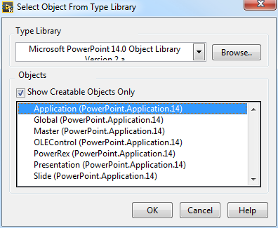 Labview MS Powerpoint ActiveX control - NI Community - National