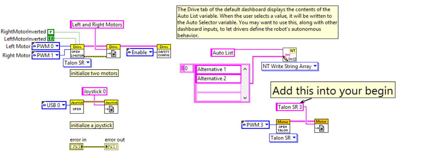 Solved: LabVIEW Adding a Motor Control for Joystick Trigger ...