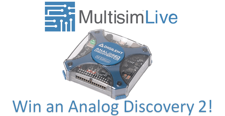Win an Analog Discovery 2!