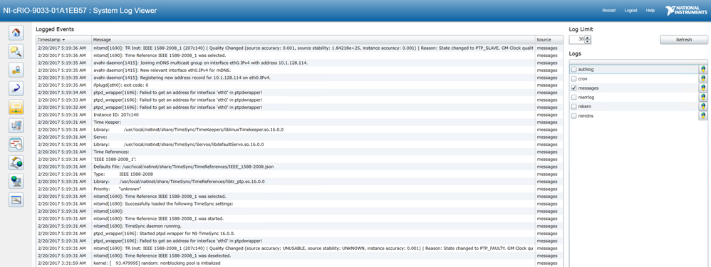 Dcaf Event Logging With Syslog Discussion Forums National