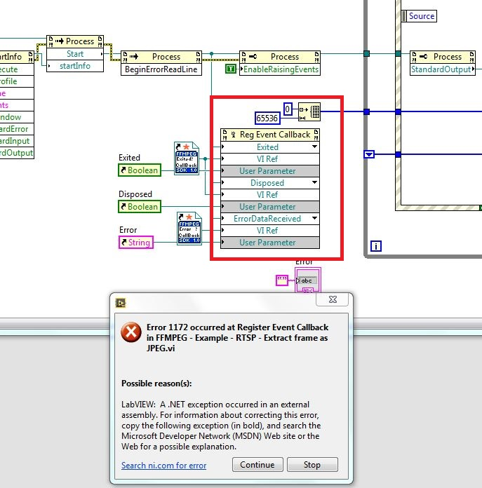 FFMPEG scripting in LabVIEW ( NET) - NI Community - National Instruments