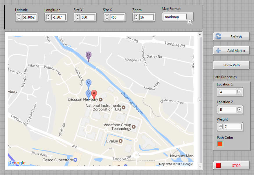 Google Maps in LabVIEW  NI Community  National Instruments