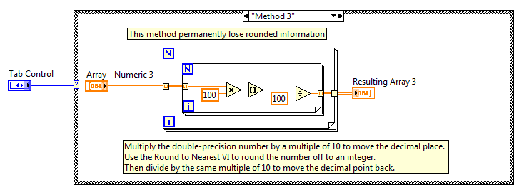 Set The Precision Digits On A Double Precision Wire In Labview