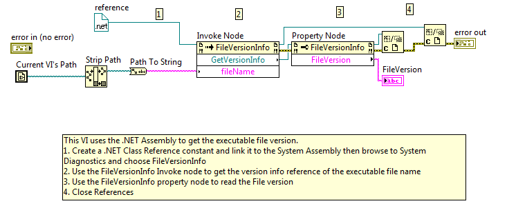 Get LabVIEW Executable Version Programmatically - NI Community