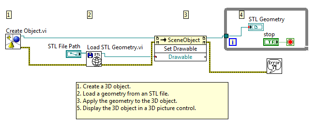 Load an ASCII STL file into LabVIEW 3D picture control - NI