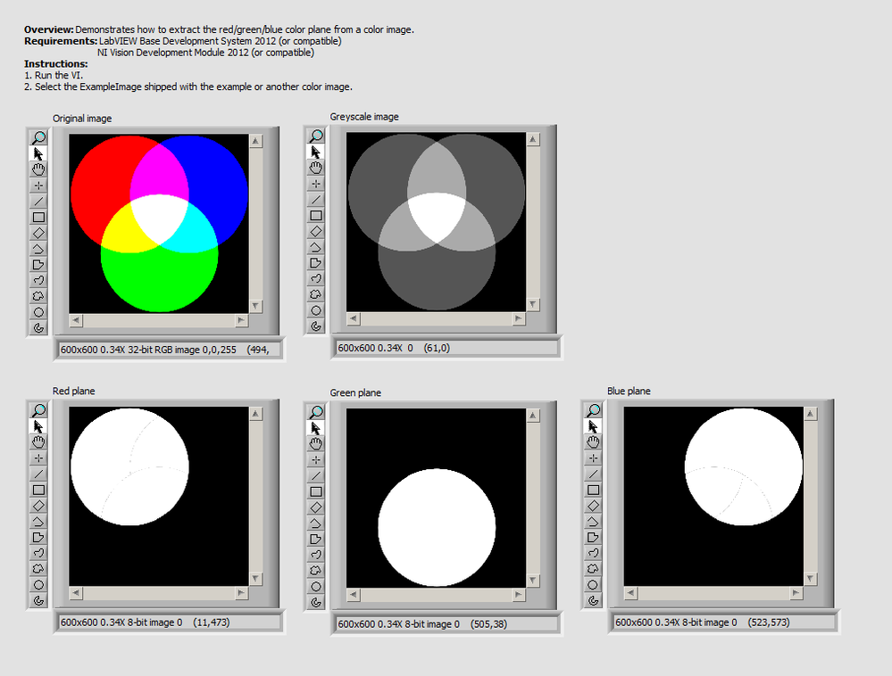 Extract Color Planes From A Color Image - Front Panel.png
