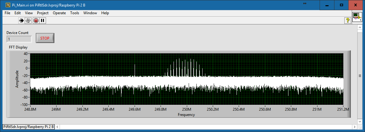 Using RTL-SDR with Linx running on a Raspberry Pi - NI