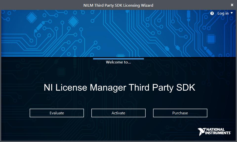 NI License Manager Third Party SDK