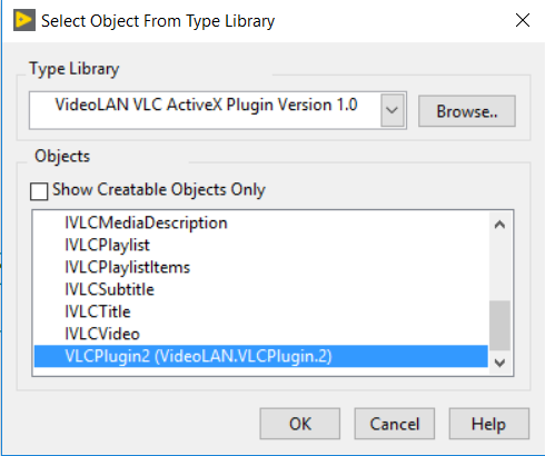 Solved: Active X for VLC player - NI Community - National
