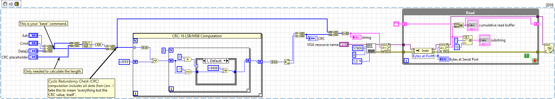 Solved: CRC-16 Calculation - NI Community - National Instruments