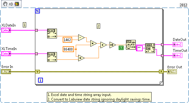 Simple Excel Date/Time to Labview - NI Community - National Instruments