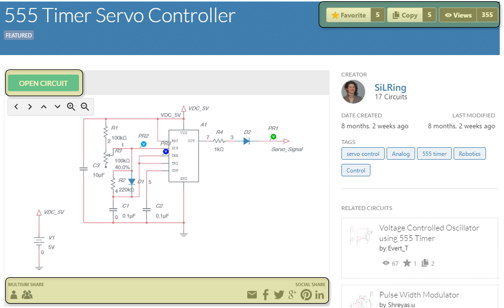 New Features In Multisim Live How To Diy Rf Switch All About Circuits Forum