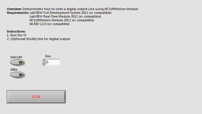 Write Digital Output Line Softmotion.vi - Front Panel.png
