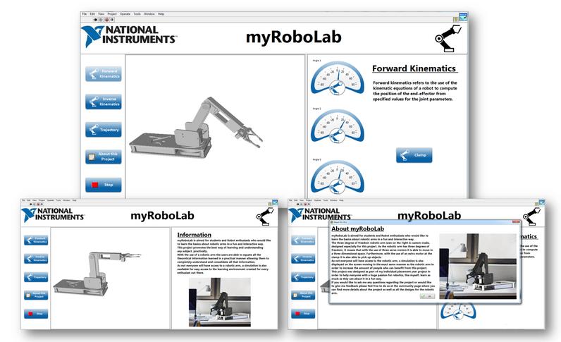 myRoboLab: Custom design Robotic Arm - NI Community