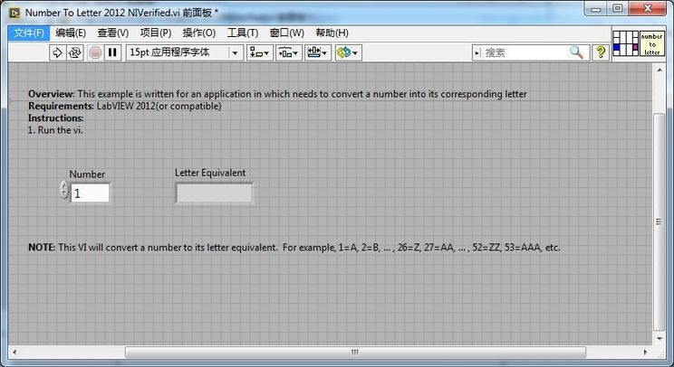 Convert Number To Letter.Convert Number To Corresponding Letter Using Labview Ni