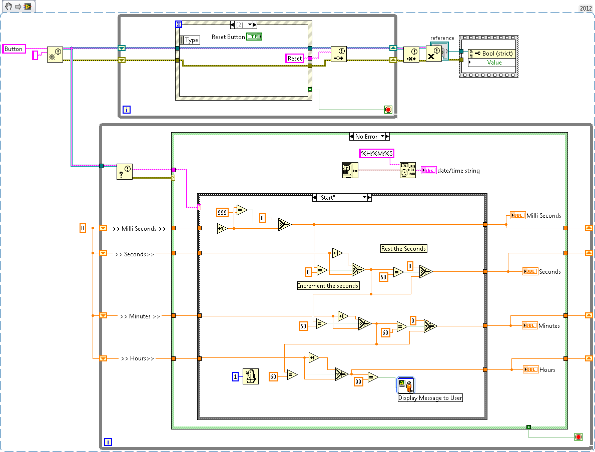 Create A Stopwatch Using Labview Discussion Forums National Electronic Circuit Design Instruments