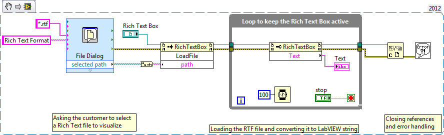 Extracting Text from Rich Text File in LabVIEW - NI Community