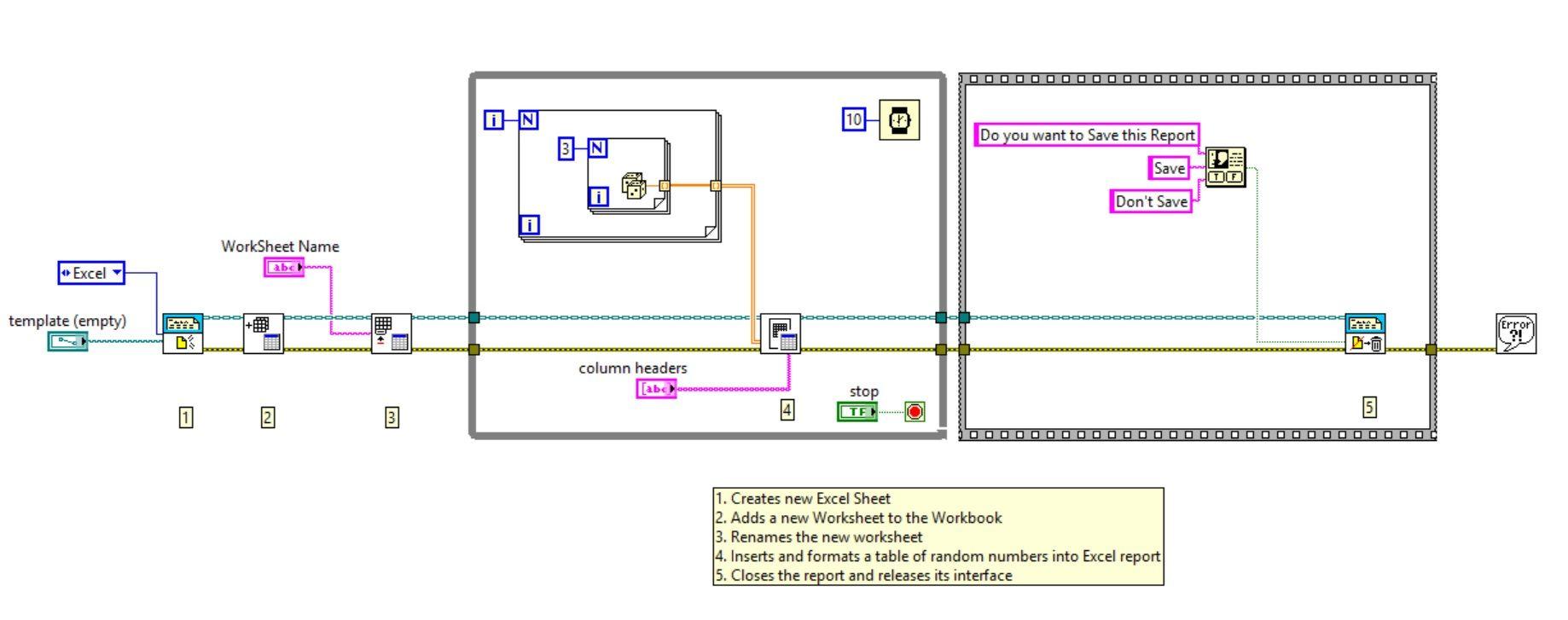 Workbooks excel workbook save : Add Excel Worksheet to Workbook Using LabVIEW - Discussion Forums ...