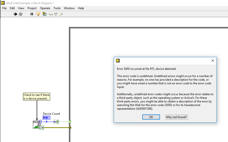 Using RTL-SDR with Labview, Chapter 1: Labview on Windows