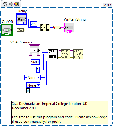 Controlling a SainSmart USB relay from LabView? - NI Community