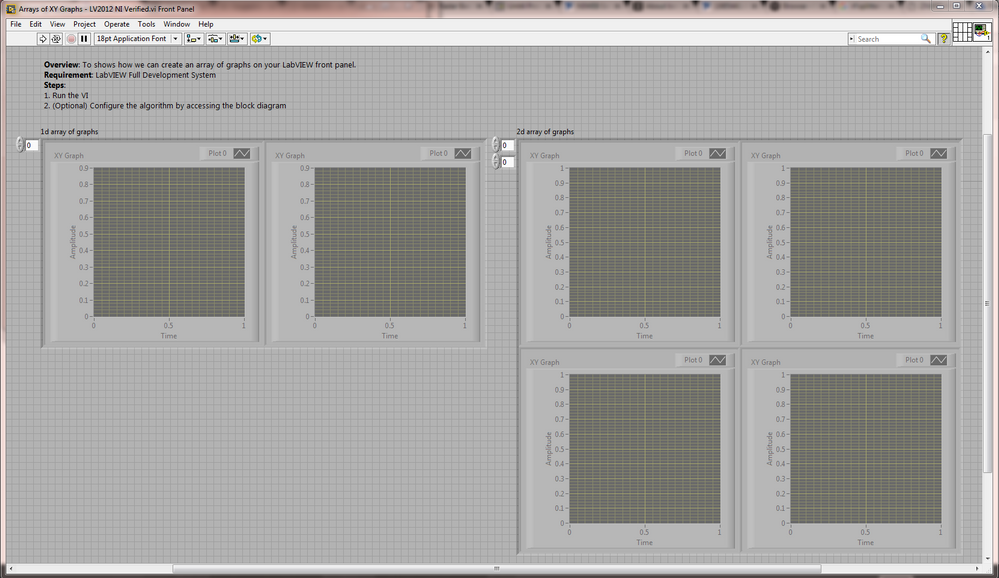 How to create an array of xy graphs for your labview front panel fp ccuart Image collections