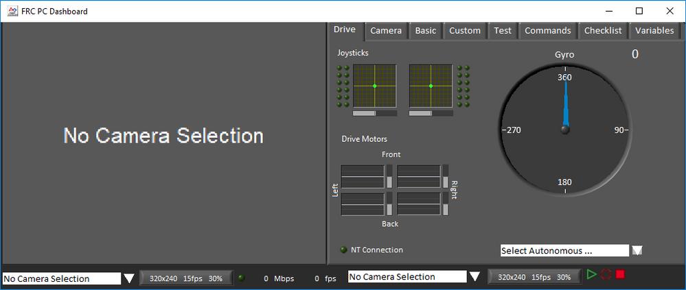 FRC Dashboard screenshot