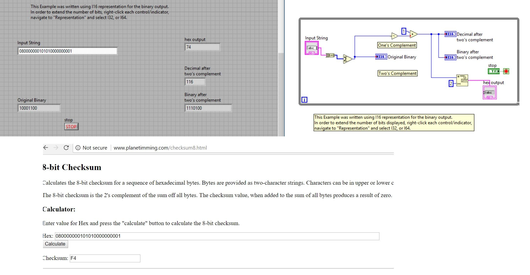 Solved: Intel 8 bit Checksum - NI Community - National Instruments