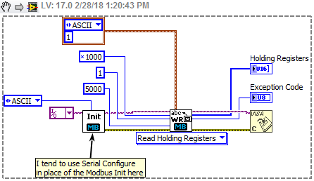 Solved: Serial communication problem - Modbus ASCII - Page 2 - NI