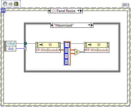 Solved: Single pixel (1px) border missing on LabVIEW windows