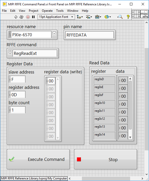 Command Panel v1.0.1