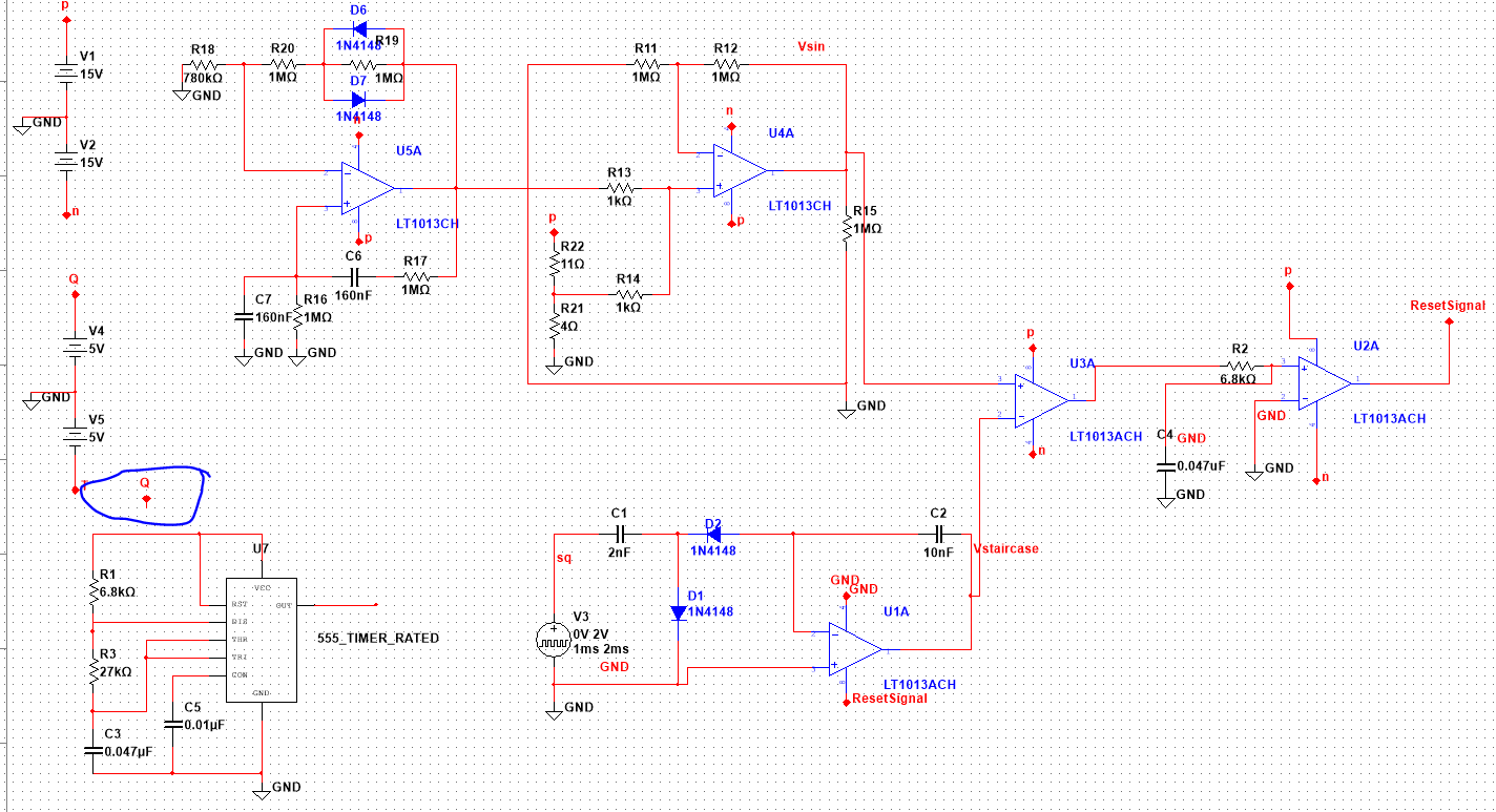Adding A 555 Square Wave Circuit To My Without Even 556 Timer Connecting It The Rest Of Breaks