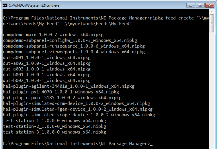 Distribute Packages Using NI Package Manager - NI Community