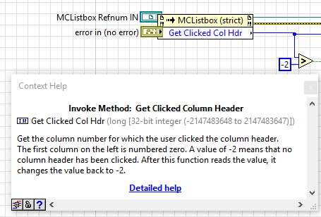 Sorting Multicolumn Listbox by Clicking on Column Header