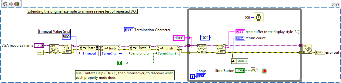 Solved: Problem with VISA Read - NI Community - National Instruments