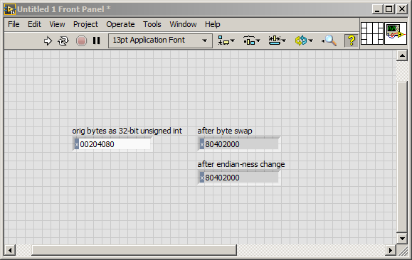 How to swap bytes in LabVIEW? - NI Community - National