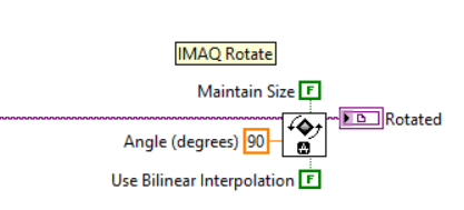 Fast way of rotating an image 90 degrees in IMAQ - NI