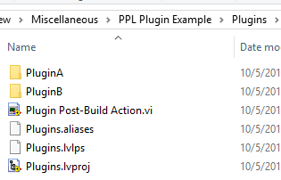Plug-in Architecture using Packed Project Libraries (lvlibp ...
