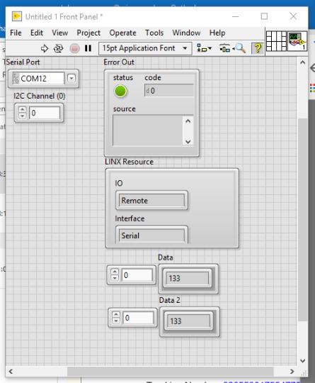 Labview LINX I2C Arduino and TI ADS1015 - NI Community