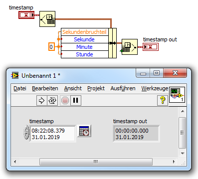 Solved: Regarding TIME STAMP Control in LabVIEW - NI