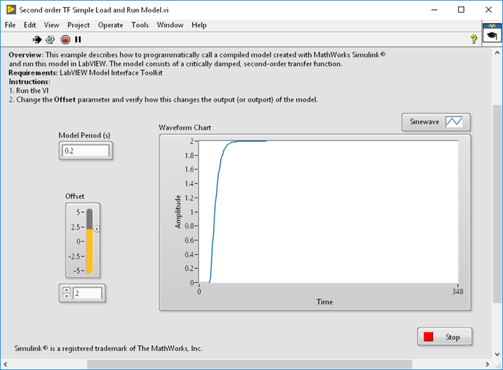Running Compiled Simulink® Models in LabVIEW and in VeriStand - NI