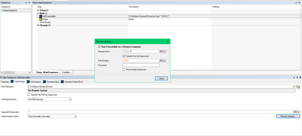 RemoteEXEServer exe Not Working + Exception - NI Community