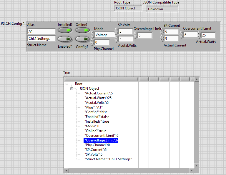 JSON to Tree Control - NI Community - National Instruments