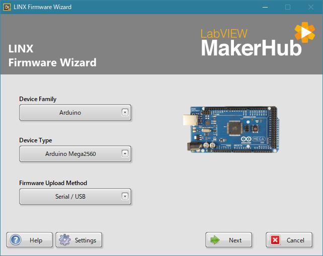 maker hub ファームウェア