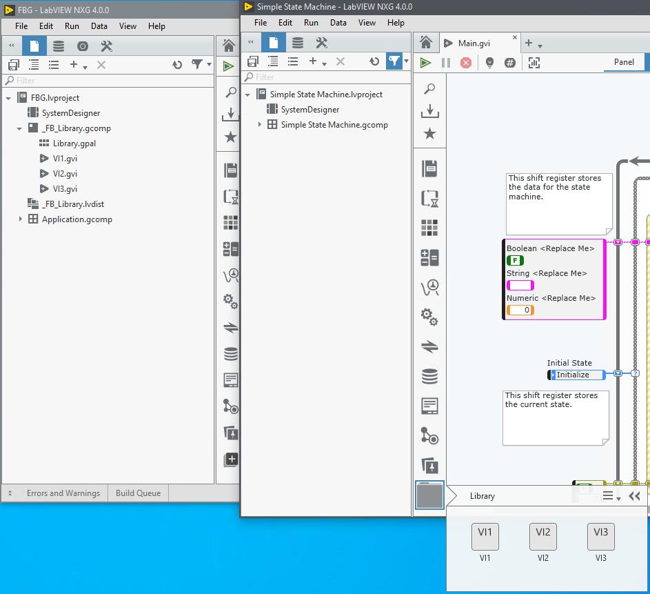 user lib in LabVIEW NXG - NI Community - National Instruments